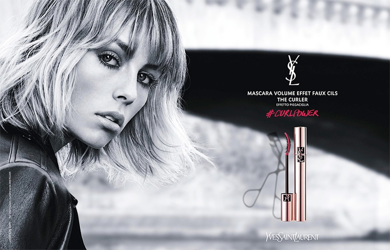 Edie Campbell stars in Yves Saint Laurent Beauty Volume Effet Faux Cils Mascara advertisement