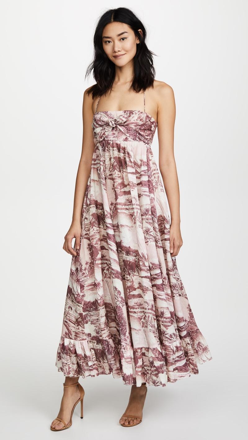 Zimmermann Kali Hawaiian Long Dress $556.50 (previously $795)