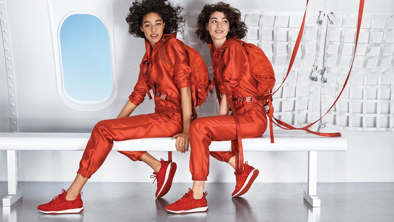 Damaris Goddrie and Steffy Argelich star in Aldo fall-winter 2018 campaign