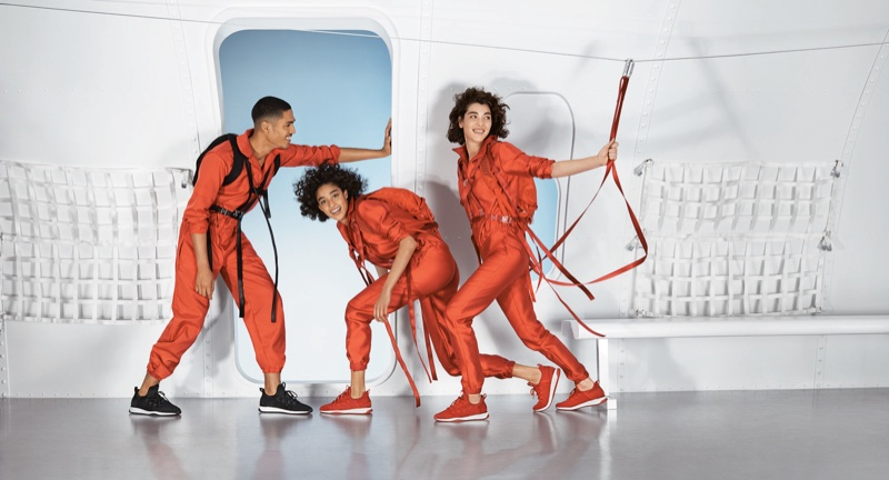 Geron McKinley, Damaris Goddrie and Steffy Argelich front Aldo fall-winter 2018 campaign
