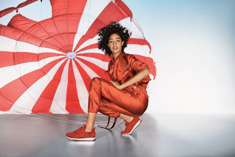 Damaris Goddrie appears in Aldo fall-winter 2018 campaign