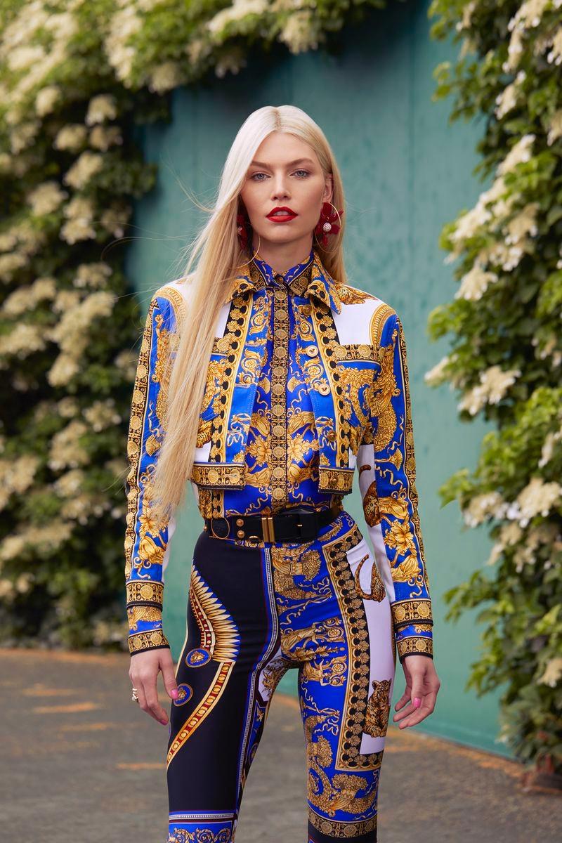 Aline Weber Wears Summer Styles in Harper's Bazaar Kazakhstan
