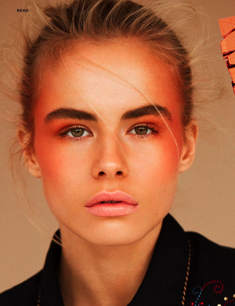 Annekee Molenaar Goes West for Cosmopolitan UK Beauty Spread