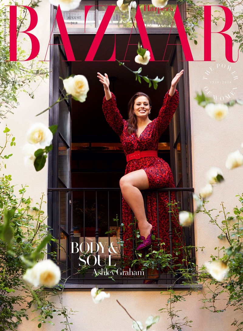 Ashley Graham Graces the Pages of Harper's Bazaar UK