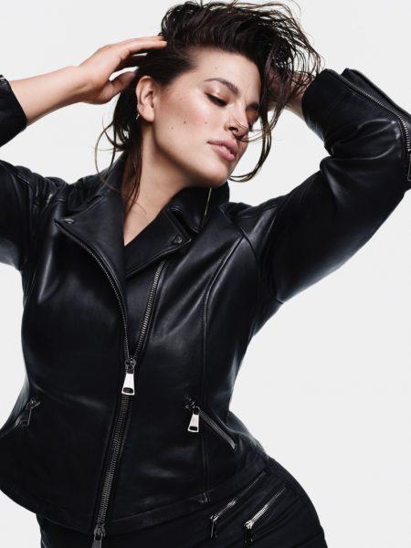 Ashley Graham Strikes a Pose for Marina Rinaldi's Fall 2018 Campaign