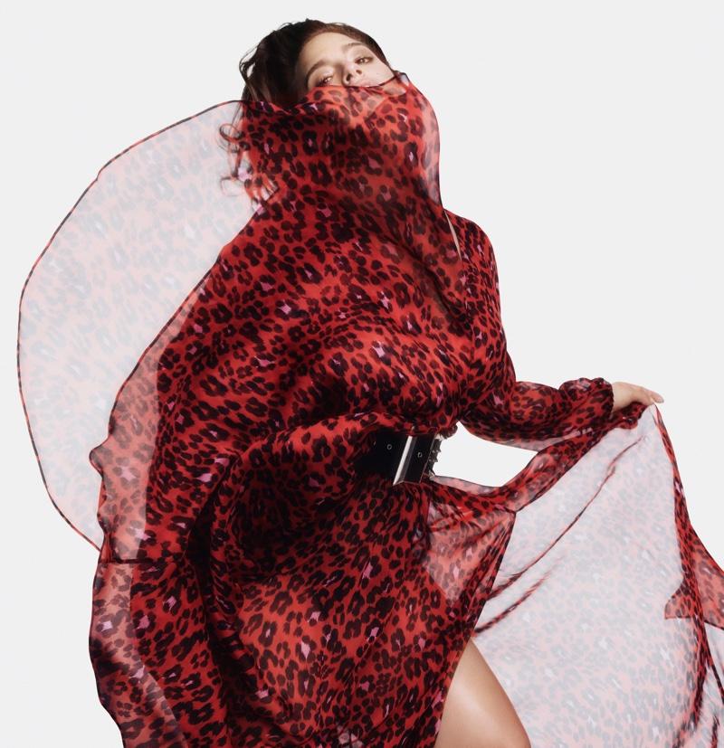 Ashley Graham looks red-hot in Marina Rinaldi fall-winter 2018 campaign