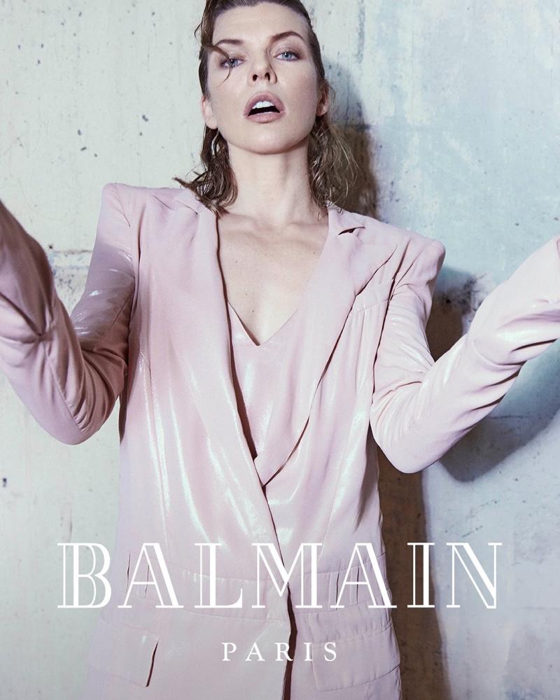 An Le photographs Balmain fall-winter 2018 campaign