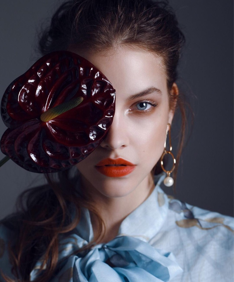 Barbara Palvin Poses in Luxe Styles for Fashion Street