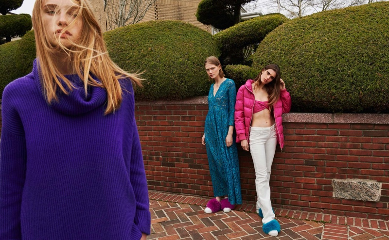 Blugirl focuses on bold color combinations for fall-winter 2018 campaign