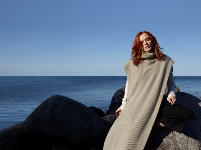 Karen Elson appears in COS fall-winter 2018 campaign