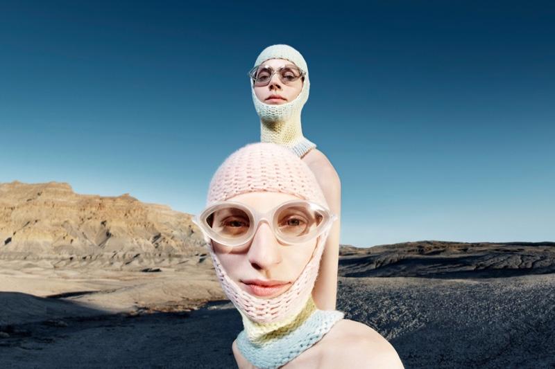 Julia Nobis and Freja Beha Erichsen front Calvin Klein fall-winter 2018 campaign