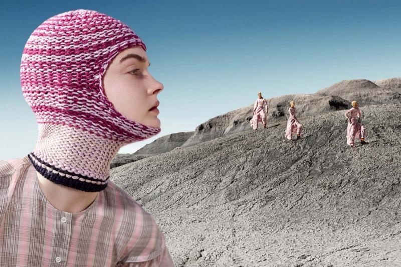 Lulu Tenney appears in Calvin Klein fall-winter 2018 campaign