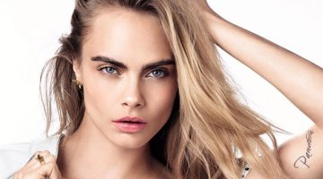 Cara Delevingne Enchants for Dior 'Dreamskin' Ad