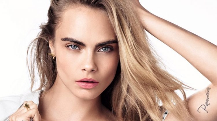 Cara Delevingne Enchants for Dior 'Dreamskin' Ad