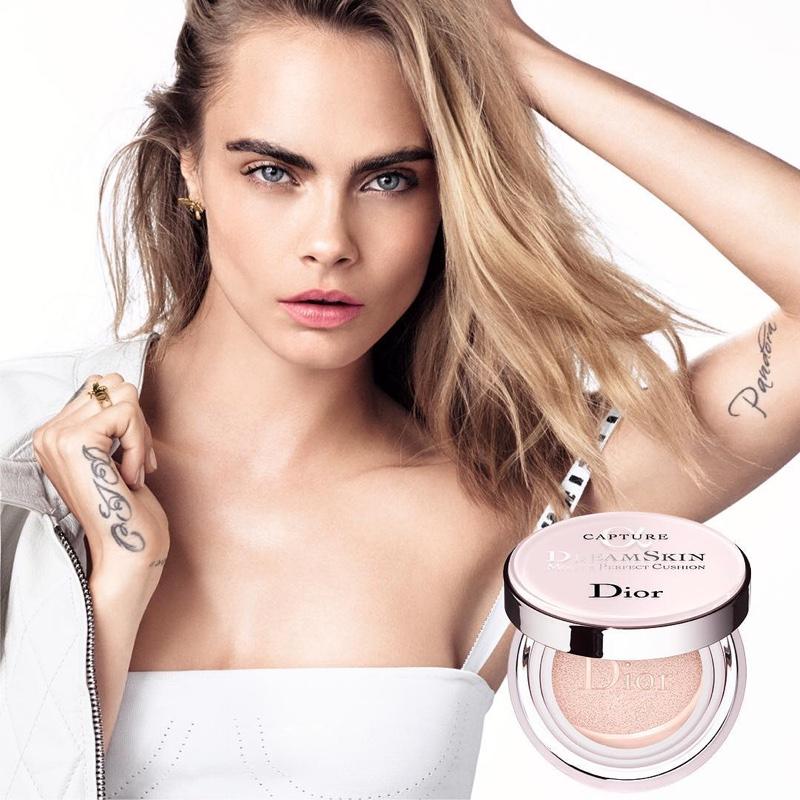 Cara Delevingne stars in Dior Dreamskin campaign