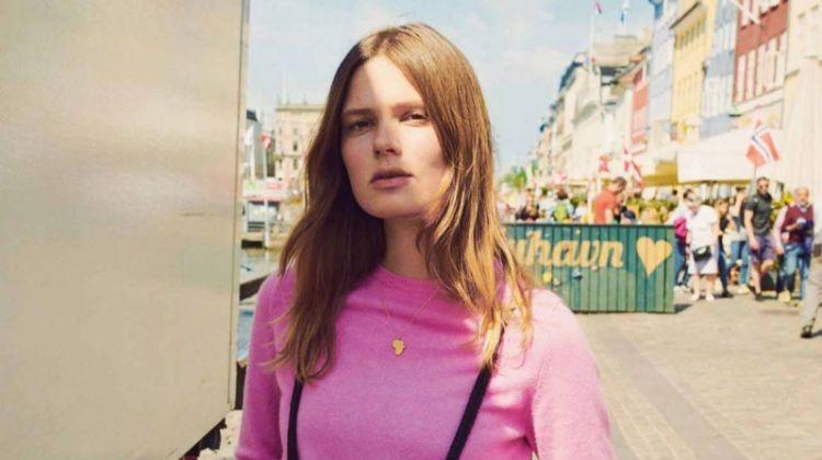 Caroline Brasch Nielsen Explores Copenhagen in Eurowoman