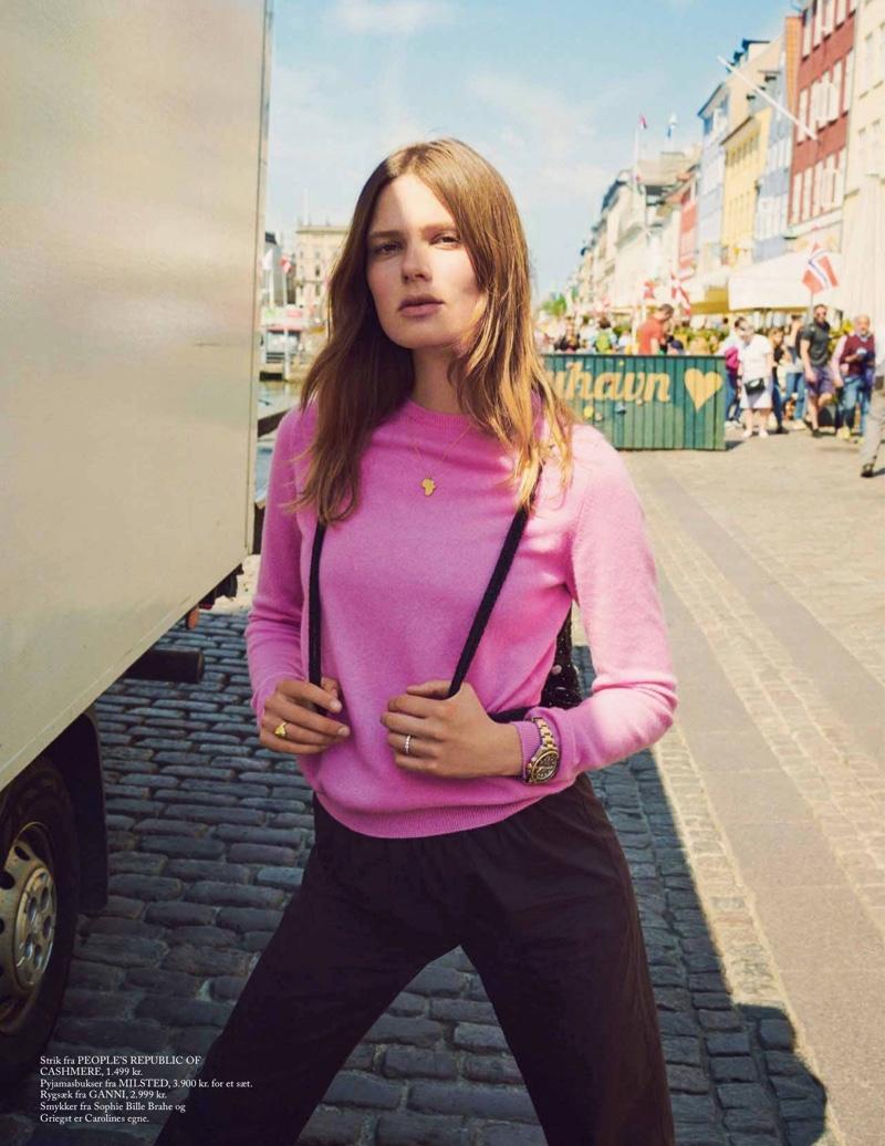 Caroline Brasch Nielsen | Eurowoman | 2018 Cover Editorial