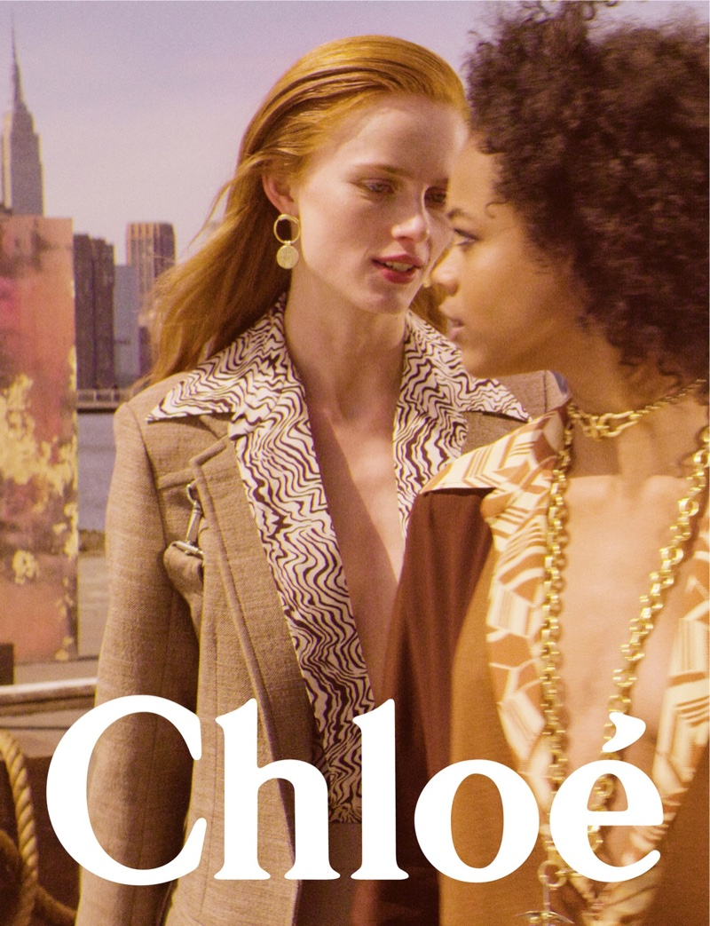 An image from Chloe's fall 2018 advertising campaign