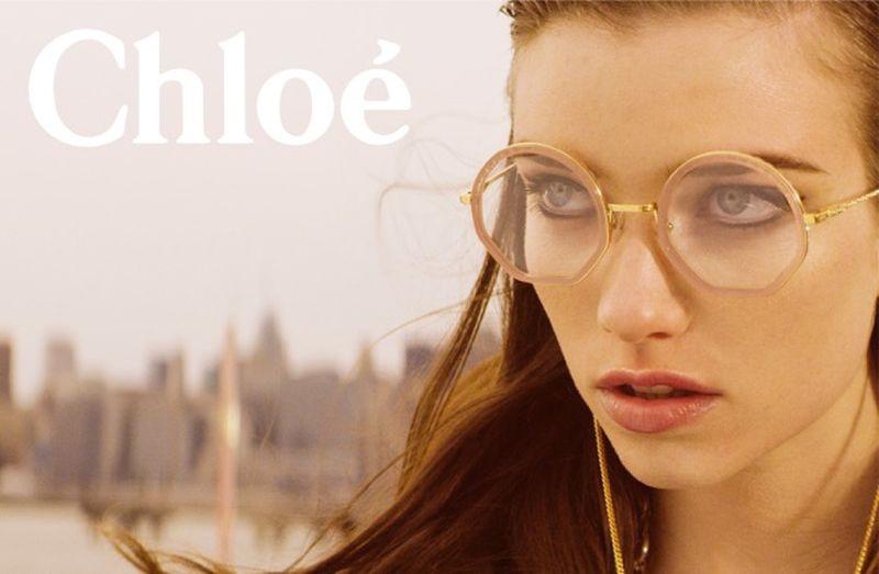 Grace Hartzel stars in Chloe fall-winter 2018 campaign