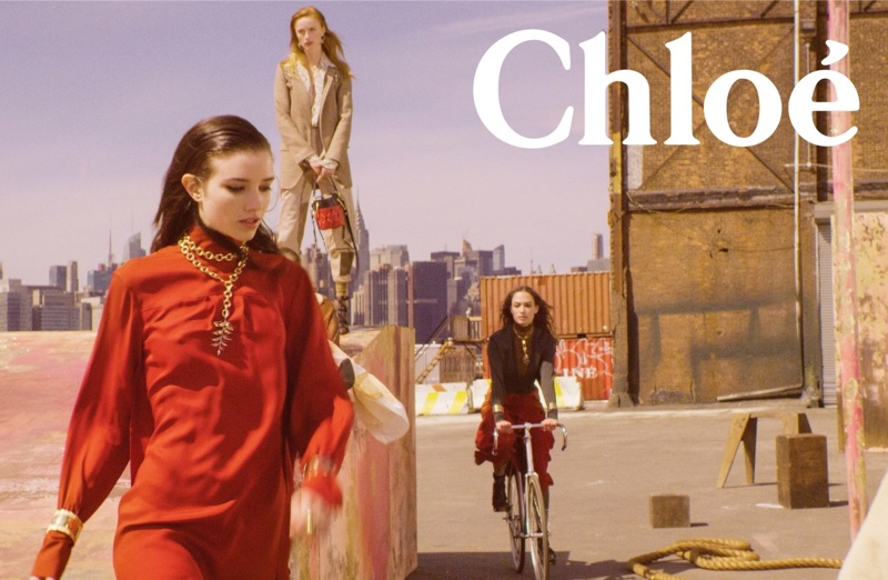 A photo from the Chloe fall-winter 2018 campaign