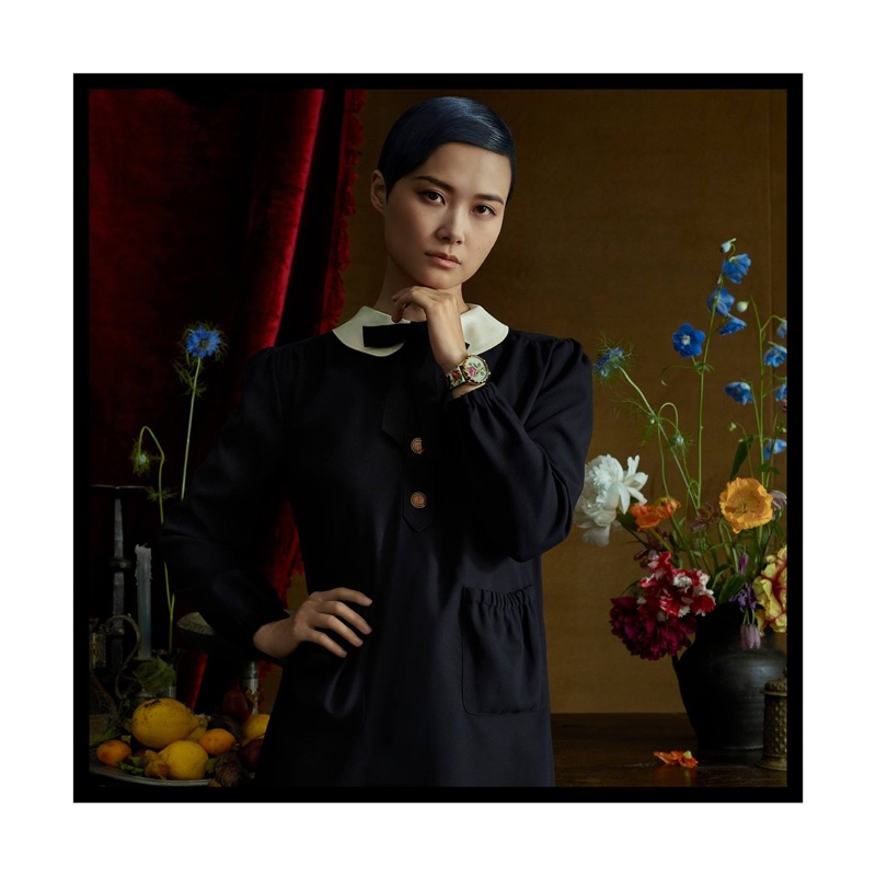 Gucci taps Chinese actress and singer Chris Lee for Jewelry + Timepieces campaign