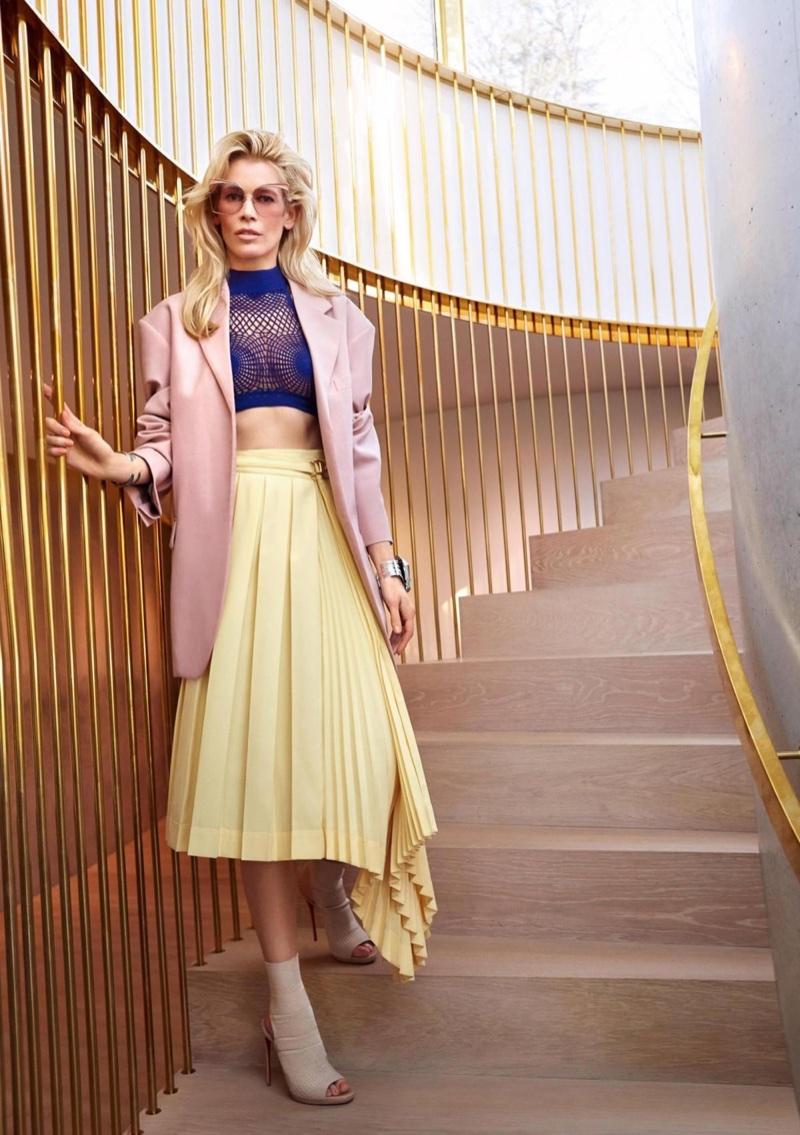 Claudia Schiffer Iconist Magazine 2018 Cover