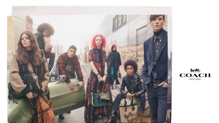 Steven Meisel photographs Coach fall-winter 2018 campaign