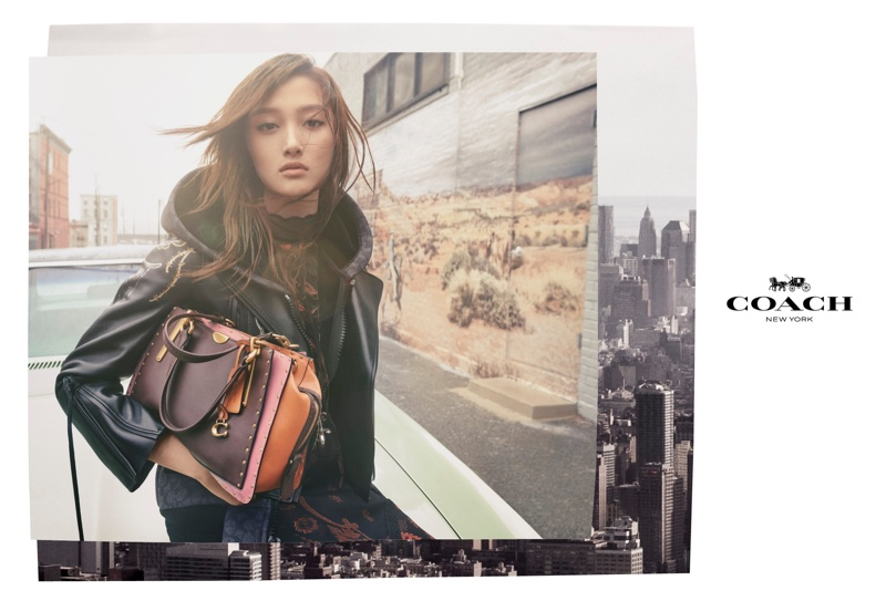 Guan Xiaotong stars in Coach fall-winter 2018 campaign