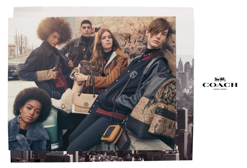 Coach unveils fall-winter 2018 campaign