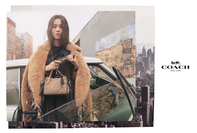 Kiko Mizuhara stars in Coach fall-winter 2018 campaign
