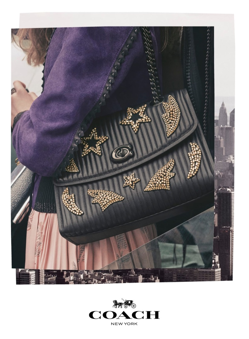 An image from Coach fall 2018 advertising campaign