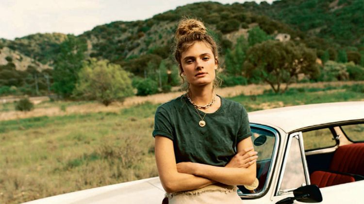 Constance Jablonski Wears Easy Styles in Marie Claire France