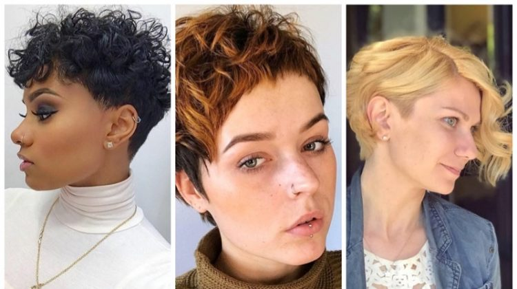 10 Bold and Edgy Curly Pixie Cut Styles for Girls with Curls