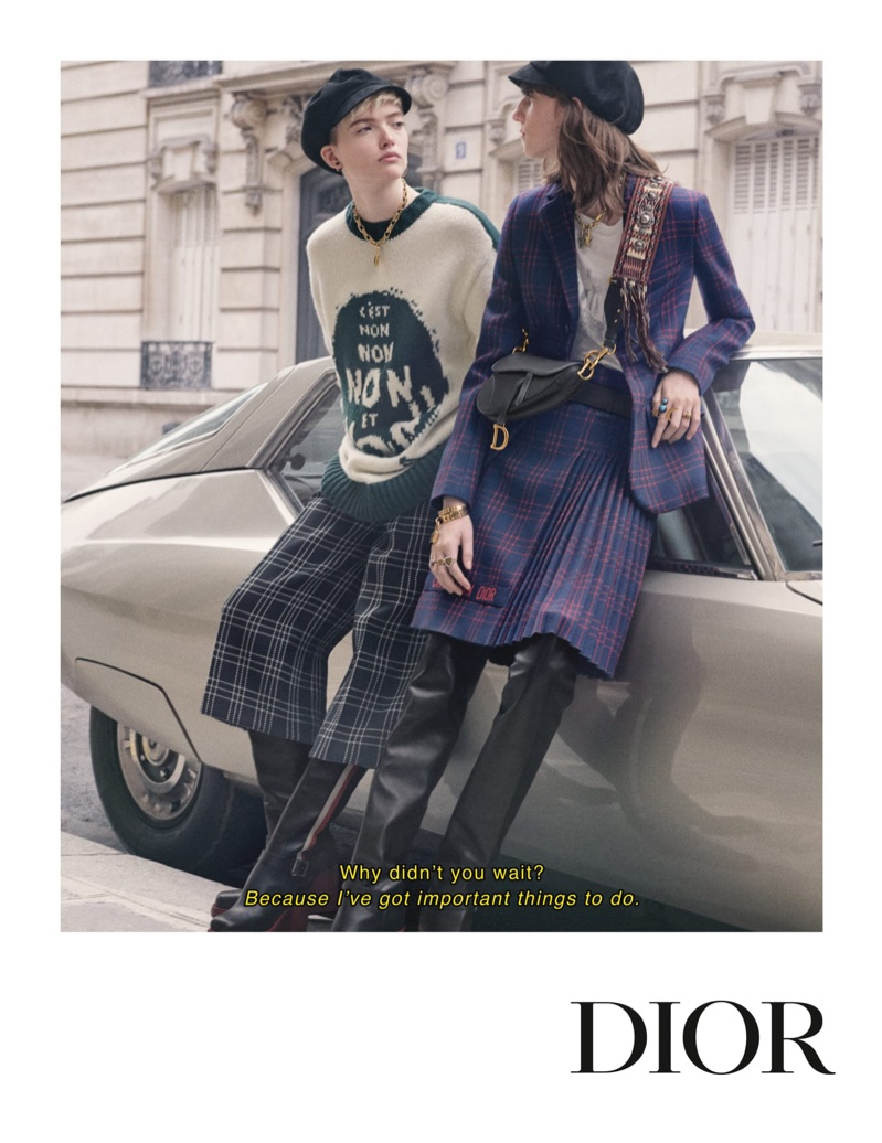 Pamela Hanson photographs Dior's fall-winter 2018 campaign