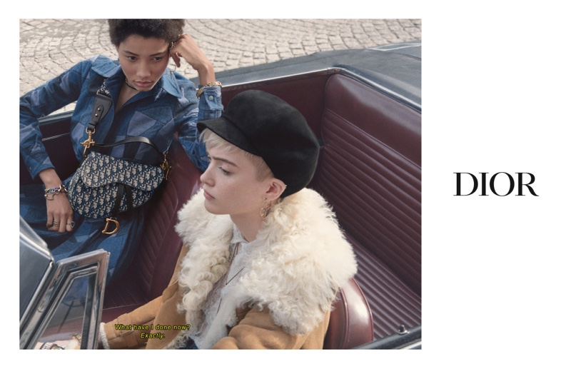 Lineisy Montero and Ruth Bell star in Dior fall-winter 2018 campaign