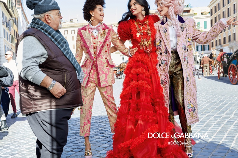 Dolce & Gabbana launches fall-winter 2018 campaign