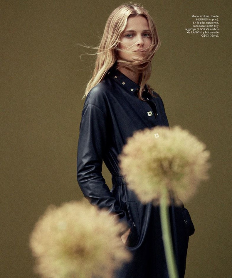 Edita Vilkeviciute Takes On the Fall Collections for S Moda