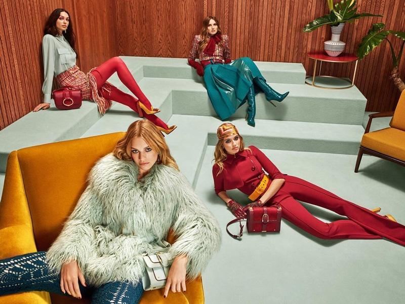 Elisabetta Franchi launches fall-winter 2018 campaign
