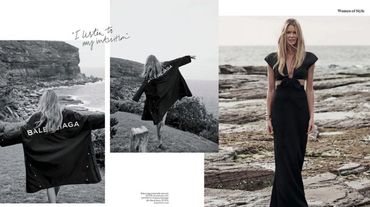 Elle Macpherson is a Beach Beauty for InStyle Australia