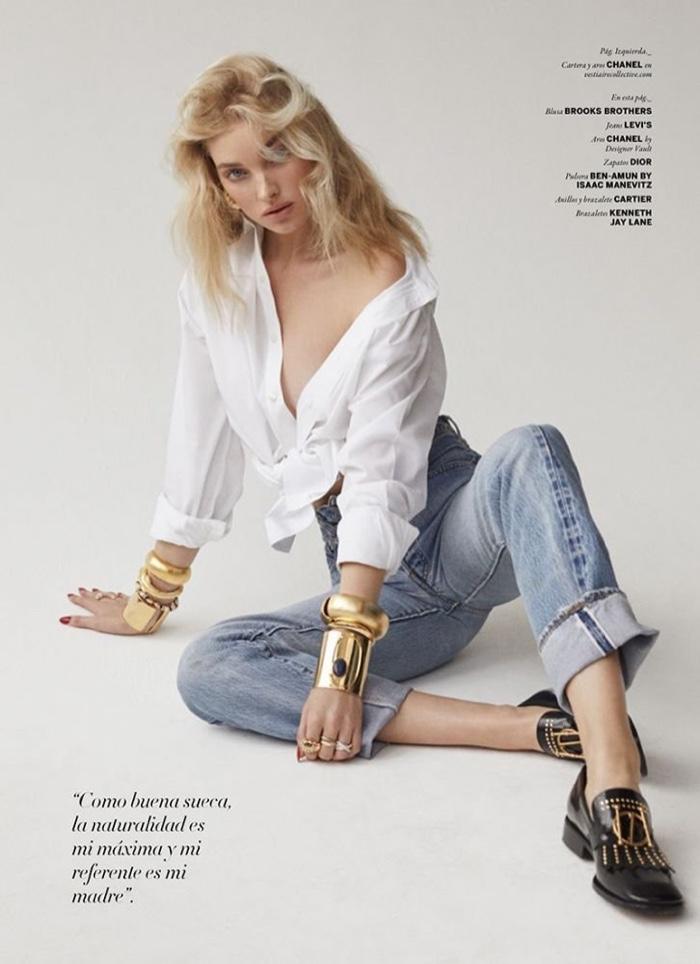 Elsa Hosk Turns Up The Heat for Issue Magazine