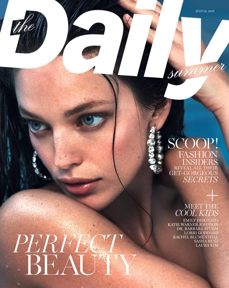Emily DiDonato Dives Into The Daily Summer Cover Story