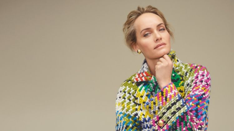 Amber Valletta stars in Escada fall-winter 2018 campaign