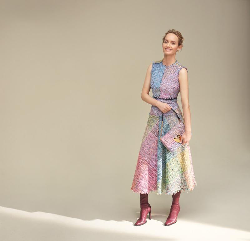 Amber Valletta appears in Escada fall-winter 2018 campaign