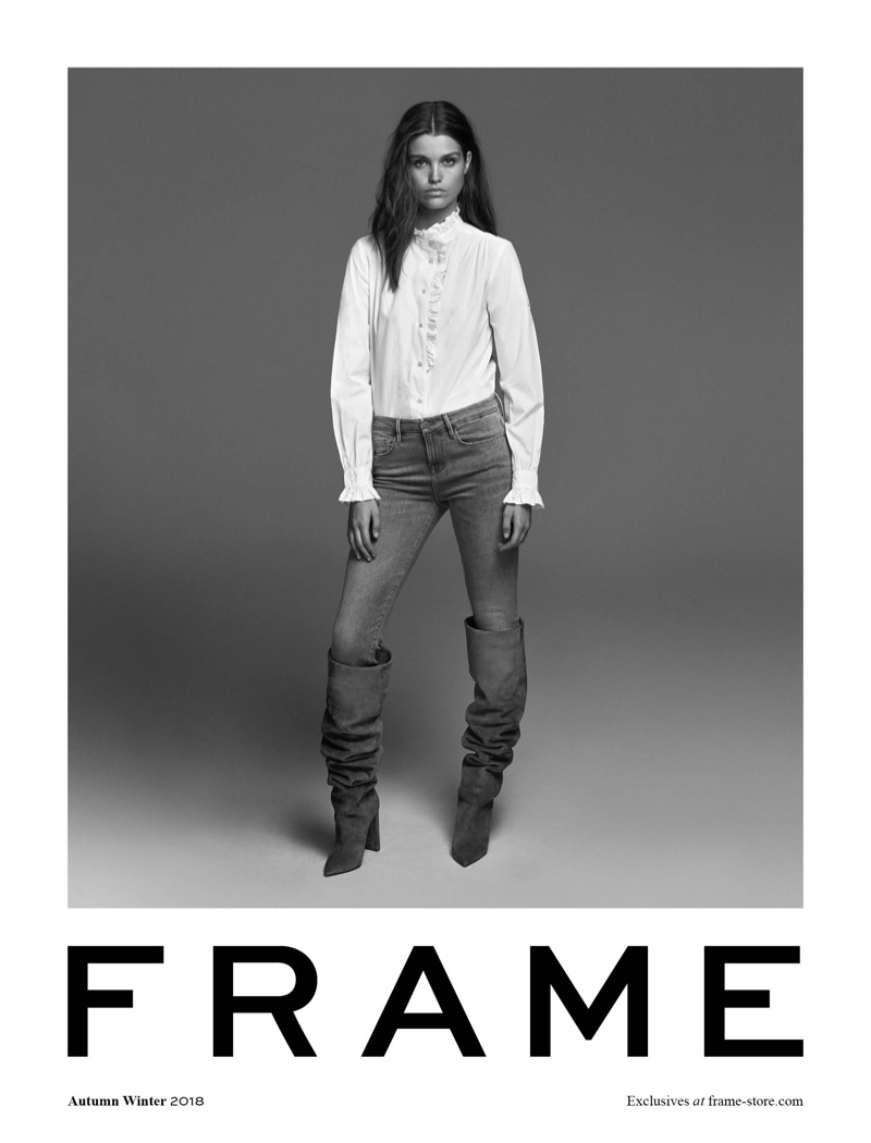 FRAME focuses on denim for fall-winter 2018 campaign