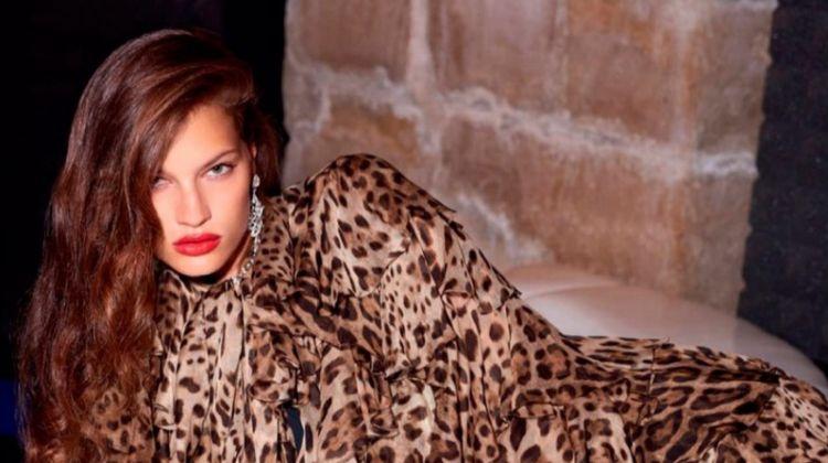 Faretta Models Bold Animal Prints for Vogue Russia
