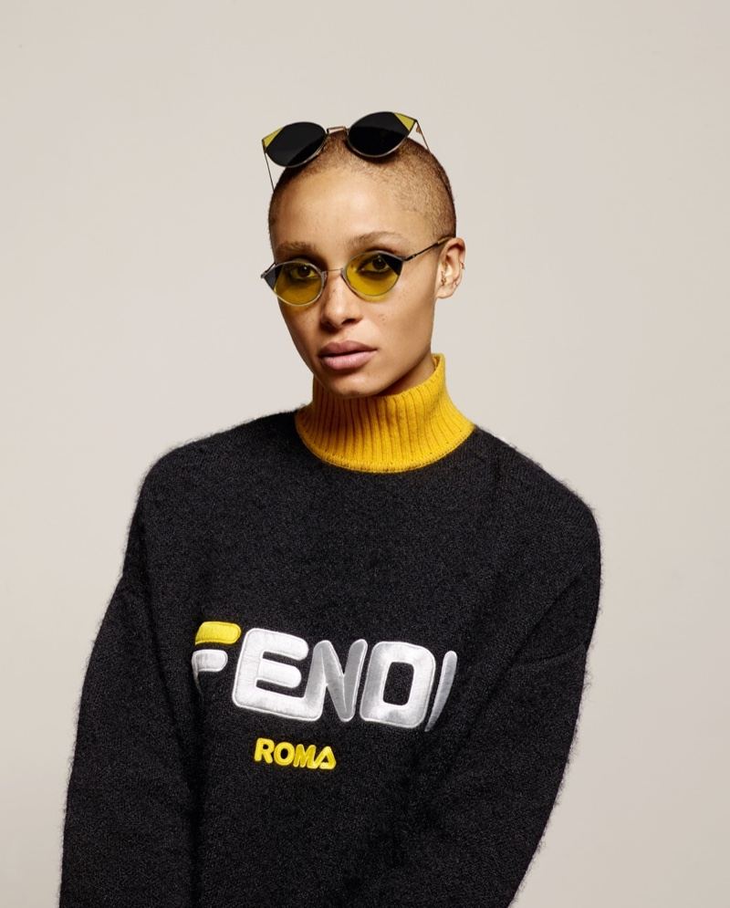 Karl Lagerfeld photographs Fendi fall-winter 2018 campaign