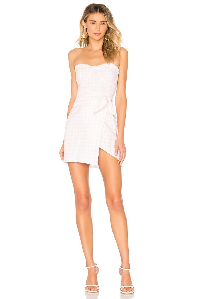 For Love & Lemons Dixie Mini Dress $189