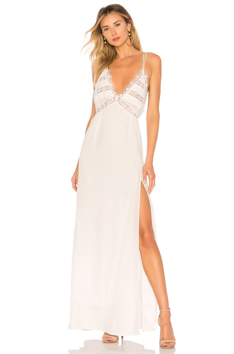 For Love & Lemons Lovebird Maxi Dress $282