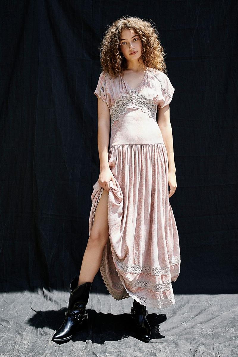 Free People Prairie Flower Maxi Dress