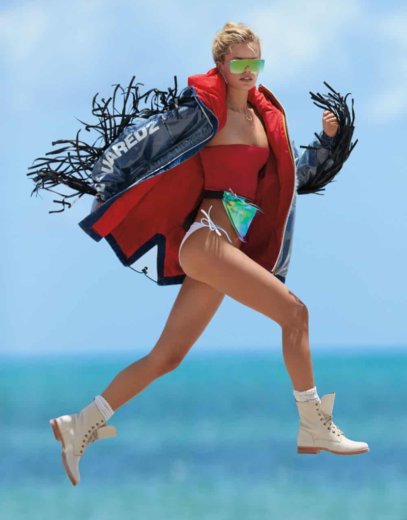 Frida Aasen Dives Into Swimsuit Season for The Daily Summer